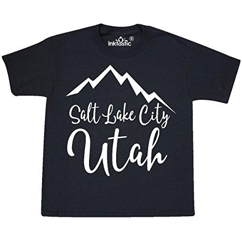 inktastic Salt Lake City Utah Youth T-Shirt Youth Medium (10-12) - Place Fashion Slc