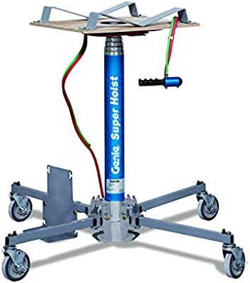 Genie Hoist, GH-3 8, Portable Lift, 300 lbs Load Capacity, Lift Height 12'  (CO2 Tank Sold Separately)
