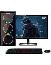 PC Gamer Completo Monitor HDMI 19.5 Intel Core i5 8GB HD 1TB Geforce GT 730 2GB Quantum XTX