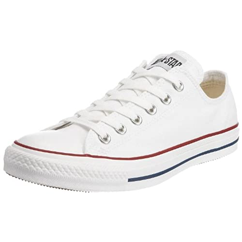 Converse Men Chuck Taylor All Star Leather Ox Optical White