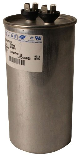 Fasco C3DR7010 Proline 70 Mfd/10 Mfd 370-volt Dual Microfarad Capacitor with 2.5-Inch Base Size and 4.75-Inch Case Height