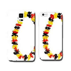 flower necklace cell phone cover case Samsung S6