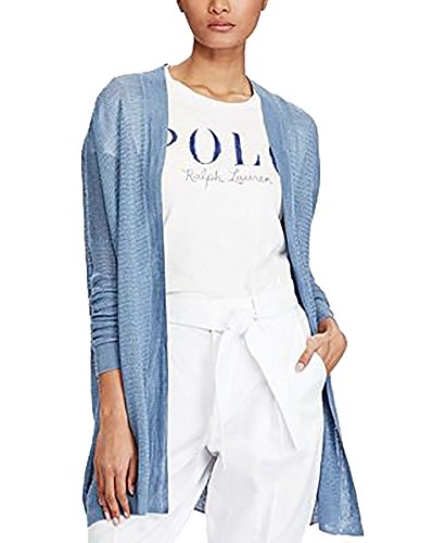 Polo Ralph Lauren Relaxed-Fit Cardigan (Bay Blue, Small)
