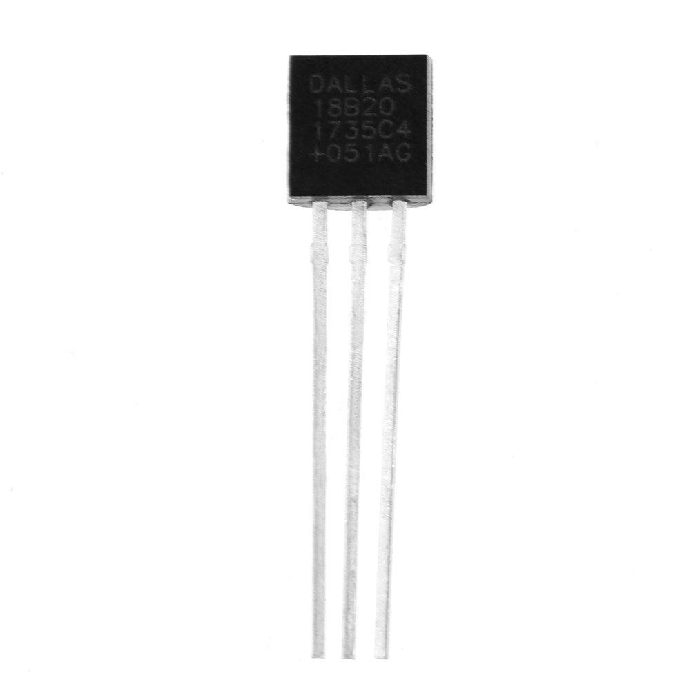 Akozon Digitalthermometer Chip 5 st/ücke DS18B20 Digitalthermometer Temperatursensor IC DIY Komponente