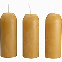 UCO 12 Hour Beeswax Candles for Candle Lanterns (3.5 Inch), 3-Pack
