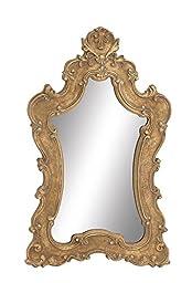 Deco 79 97076 Wood Wall Mirror, 32\