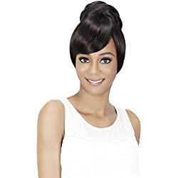 Vivica A Fox Hair Collection Bpb-sheena Pocket Bun Combined with A Bang, Bang N Pony 2, 18.4 Ounce