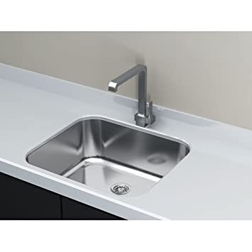 Cantrio KSS 2018 Stainless Steel Undermount Kitchen Sink, 20 X 18 Inch