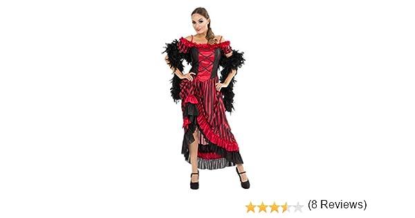ORION COSTUMES Disfraz Cabaret de Bailarina de Can Can de Taberna para Mujeres: Amazon.es: Ropa y accesorios