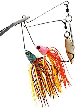 Bestハード釣り餌Spinnerbaitキットfor Bass Fishing