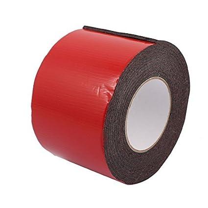 eDealMax 100mm de doble adhesivo lateral choque espuma resistente anti-ruido de la cinta Longitud