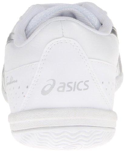 ASICS Womens Tumblina Cheer Shoe White/Silver DZZ3H4
