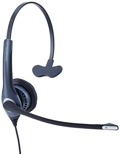 [해외]시스코 IP 커뮤니케이터와 함께 사용할 수 있는 Jabra GN2000 USB 모노 CIPC 유선 헤드셋 / Jabra GN2000 USB Mono CIPC Corded Headset for use with Cisco IP Communicator