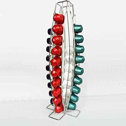 Soporte de pared para 40 cápsulas Nespresso Cápsula dispensador de soporte Pa
