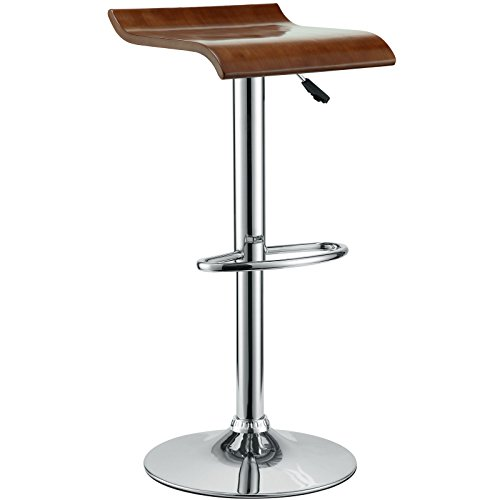 Modern Contemporary Wood Bar Stool Oak by America Luxury - Stools