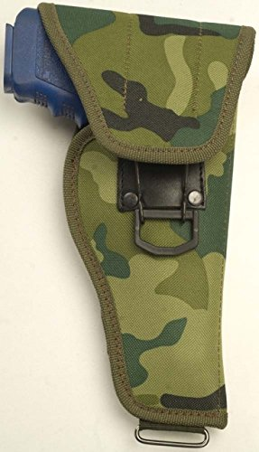 Cebeci 10214LC01 Military CMF 10214 Fits Most Med-Large Frame Autos & Revolversup to 4'' BBL Holster, Left-Hand, Camo