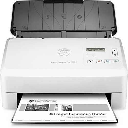 Seven Feed (HP ScanJet Enterprise Flow 7000 s3 Sheet-feed OCR Scanner)