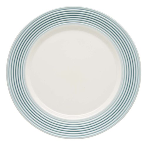 Lenox Tin Can Alley Seven Degree Dinner Plate, Blue