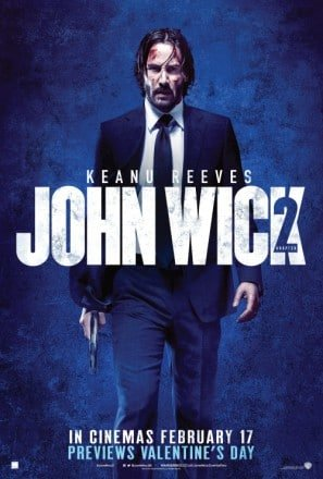 Amazonde John Wick 2 Chapter Two Keanu Reeves Uk Movie Wall