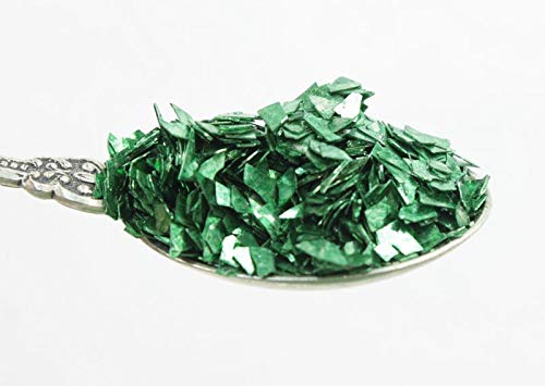 Forest Green Authentic Imported German Super Shard Glass Glitter - Largest Grain Size - SSG-Forest G