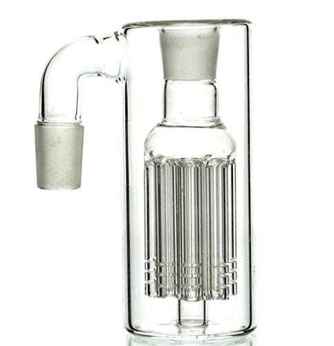 18mm Clear Glass Handmade Piece happysirer
