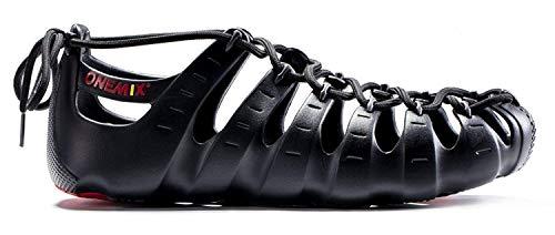 modi sportive rosso Sneakers Textile Sandali Onemix per Running Training nero Pantofole Tre scarpe indossare AXznOwxn