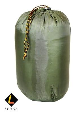 Ledge Sports Ridge +30 Classic Rectangular Sleeping Bag with Stuff Sack (75 X 30)