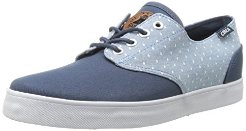 Circa Athletic Sneakers - C1RCA Men's AL13 Fashion Sneaker,Mood Indigo/Raindrop Chambray,6.5 M US