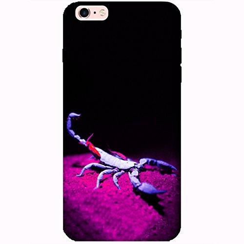 Coque Apple Iphone 6 Plus-6s Plus - Alien Scorpion Bleu