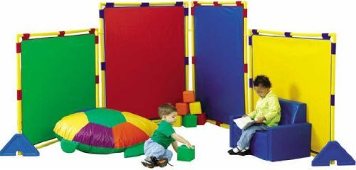 (Children's Factory Big Screen Rainbow PlayPanel Set)
