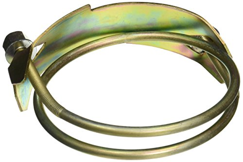 Uxcell Brass Tone Metal T Bolt Hose Clamp Fastener, 4