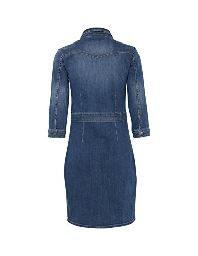 Blue Dr 29035 Blend S Med Panel Damen Kleid Denim Blau She nwPA1g