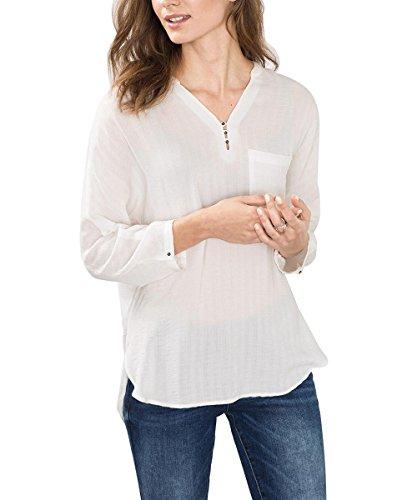Off Bianco Camicia Donna White 110 ESPRIT Fw8tqExaa
