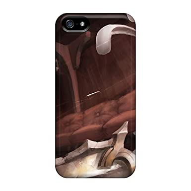 YAdasWl4496qDCVO Case Cover Teemo Vs Riven Iphone 5/5s Protective Case