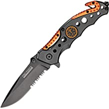 Tactical Knife TF-723EM with Spring Assisted Opening and Folding Blade.