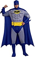 Rubies Costumes Men's Batman Brave & Bold Deluxe Muscle Chest Adult Plus Costume