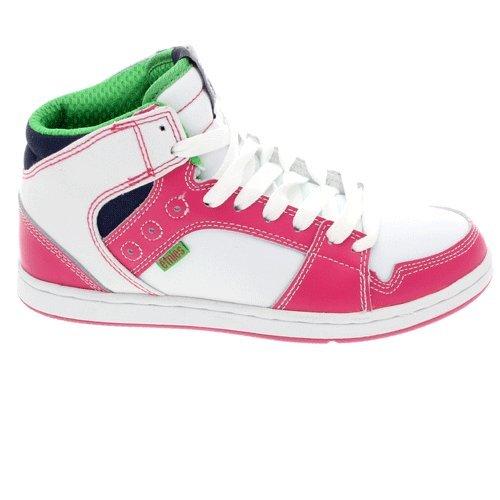 Etnies Perry Mid SMU-Scarpe da donna, colore: bianco/rosa