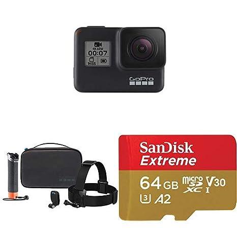 GoPro HERO7 Black + Adventure Kit + (1) microSD Card