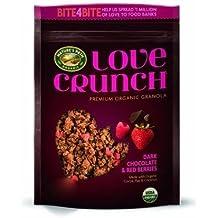 Nature's Path Organic Premium Love Crunch Granola Dark Chocolate & Red Berries ,26.4oz ,(2 Pack)
