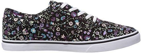 Vans ATWOOD - Zapatillas de lona para mujer Multicolor (Floral black/FF1)