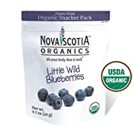 Nova Scotia Organics Freeze Dried Wild Blueberries Snacker Pack (6 x 20g)