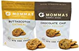 Chocolate Chip Cookies with Pecans and Butterscotch Oatmeal Cookies - G Mommas Homemade Cookies (2 Pack Variety)
