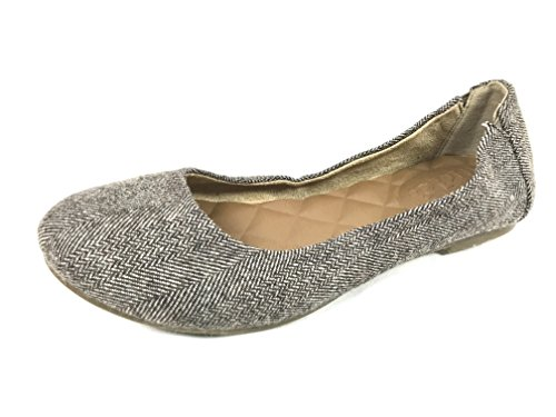 Mudd Womens Ballet Flats, 8 Med, Brown