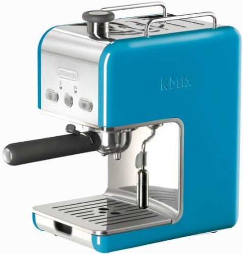 DeLonghi Kmix 15 Bars Pump Espresso Maker, Blue