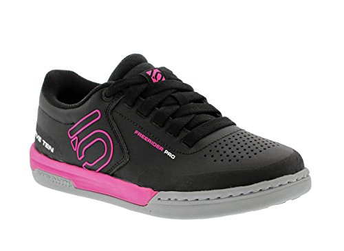 Five Ten Women's Freerider Pro Bike Shoes (Black/Pink, 5 US)