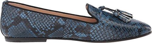 Massimo Matteo Femmes Gland De Serpent Slip-on Bleu