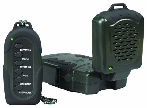 Big Save! Hunters Specialties Johnny Stewart's Attractor with Remote Predator Caller (Includes Vario...
