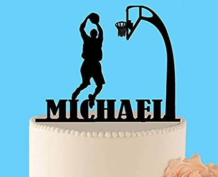 Decoración para tarta de baloncesto, decoración para tarta ...