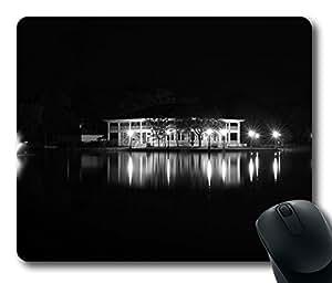 Design Mouse Pad Desktop Laptop Mousepads Buhl Park Casino Black And White Comfortable Office Mouse Pad Mat Cute Gaming Mouse Pad