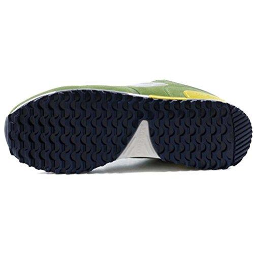 YiDiar Männer Athletic Training Trail Laufschuhe Ultraleichte Outdoor Jogging Sport Turnschuhe Grün Weiß